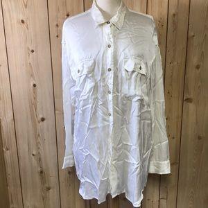 Ralph Lauren Denim & Supply silk blouse tunic